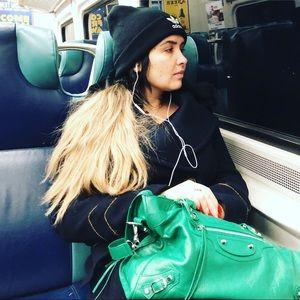 Balenciaga Green City Bag